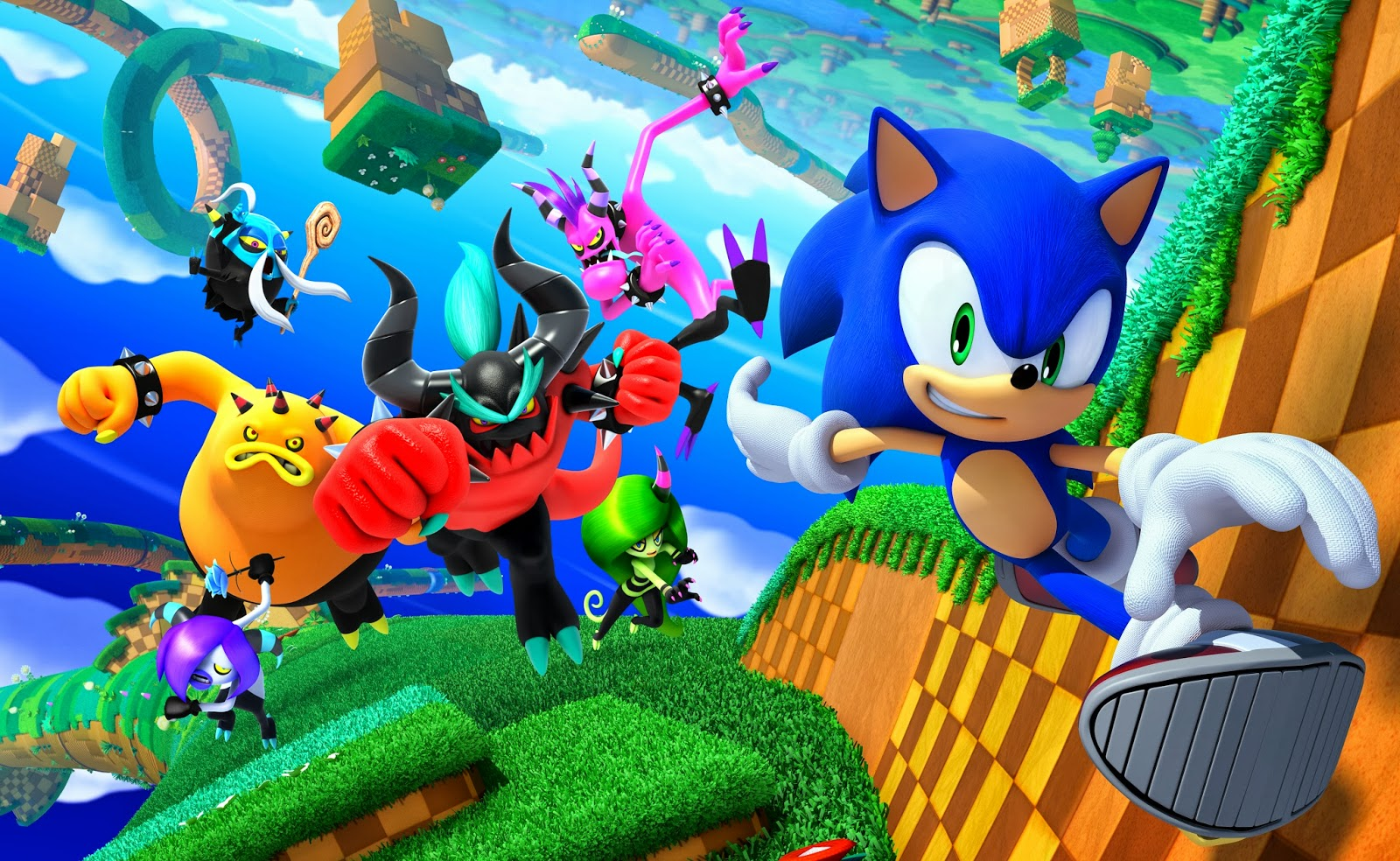Sonic Lost World 3ds : Sonic lost world ds recensione i love videogames