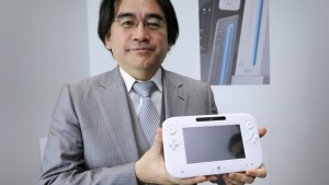 Iwata con Nintendo Wii U