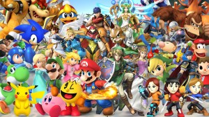 super smash bros per wii u