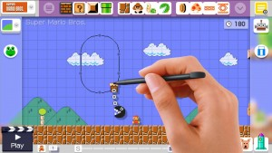 Super Mario Maker Touchpad