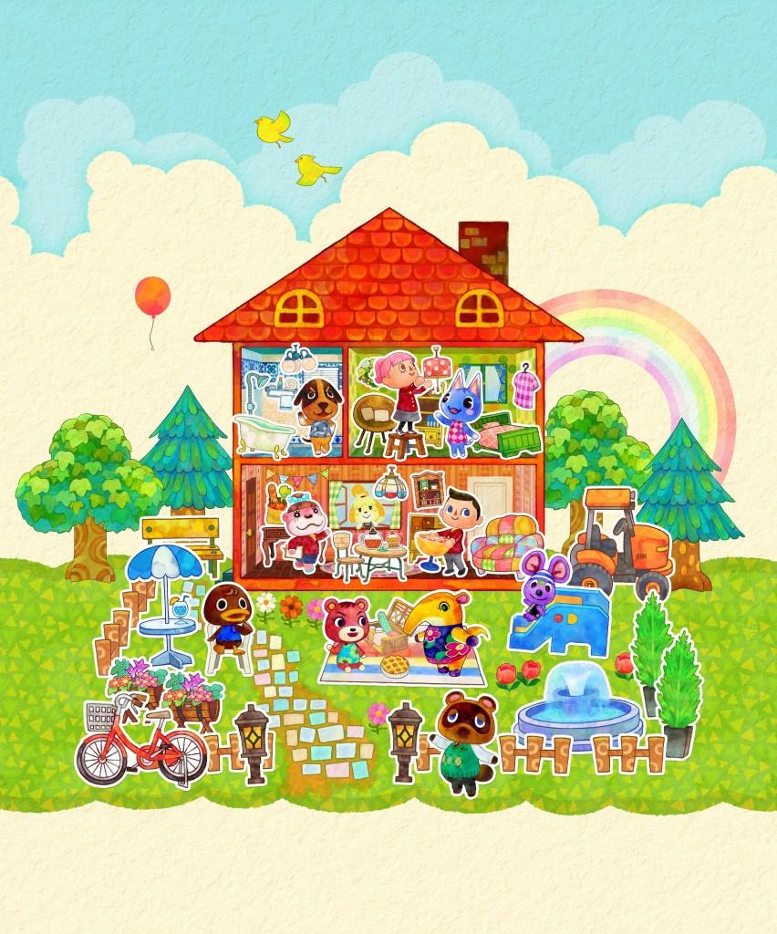 Animal Crossing: Happy Home Designer  arrivano i Felyne di Monster
