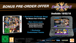 Project X Zone 2 - Bonus pre-ordine