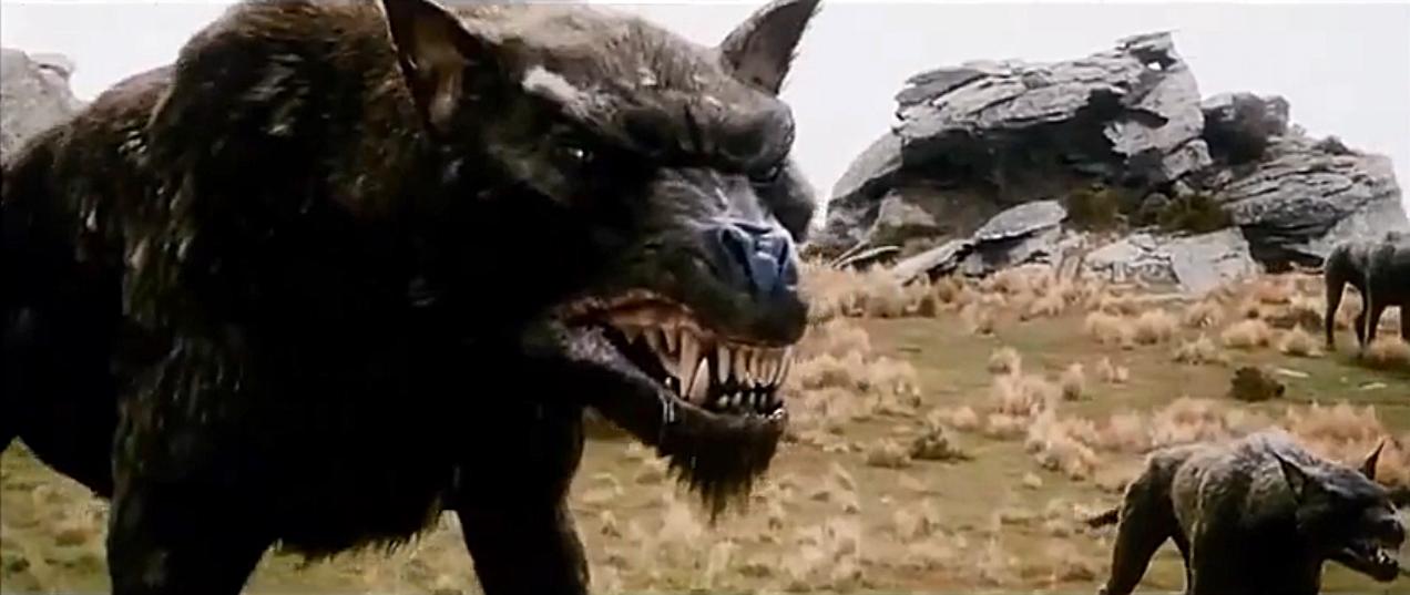 Un esempio di Warg tratto dalla trilogia de Lo Hobbit diretta da Peter Jackson