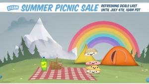 Steam Summer Pic Nic Sales