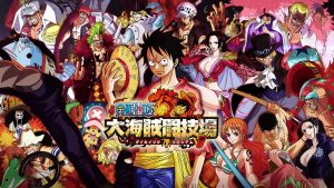 one piece great pirate colosseum