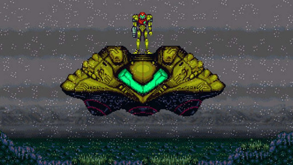 Super Metroid Crateria