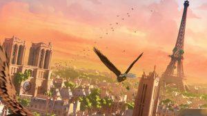 eagle flight
