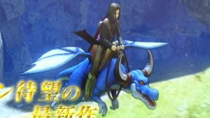 Dragon Quest XI - cavalca drago 2