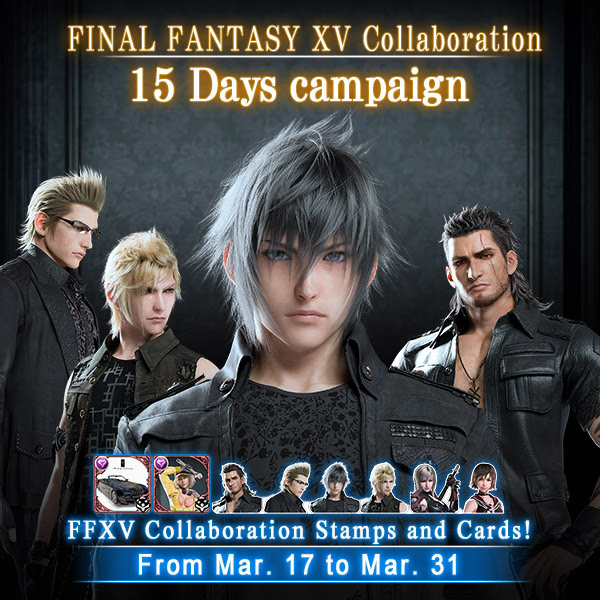 Final Fantasy XV Mobius Final Fantasy