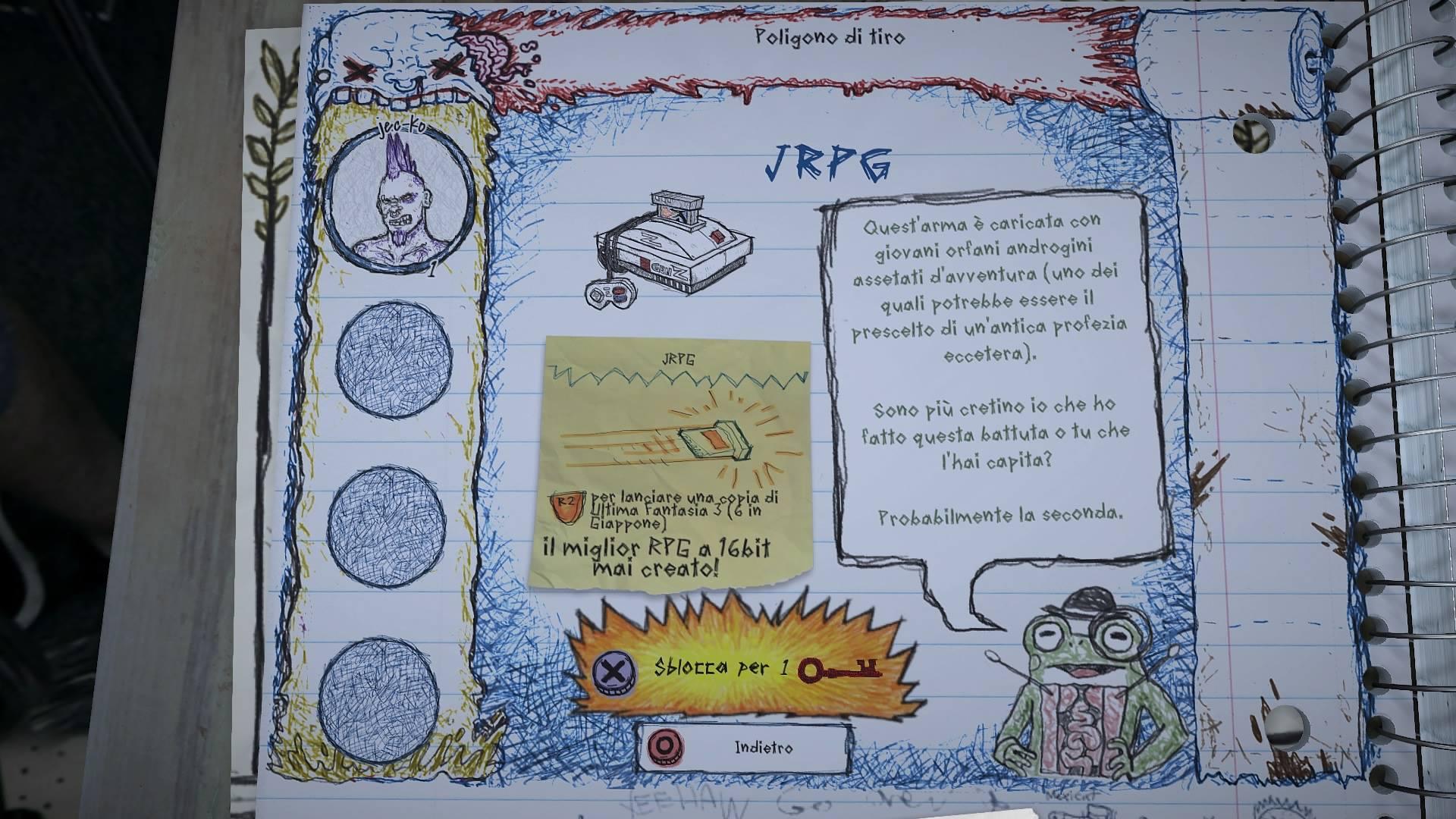 drawn to death jrpg