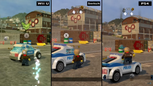 LEGO City Undercover confronto