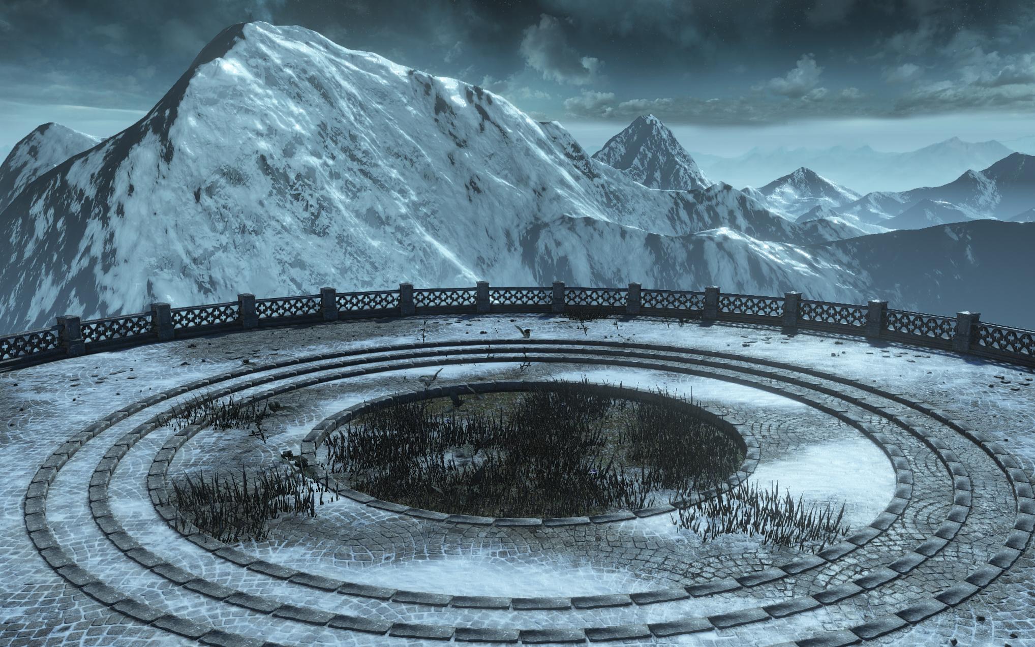 Dark Souls III Round Plaza