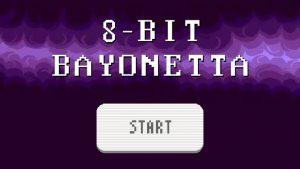 8 bit - Bayonetta logo