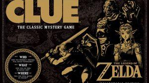 The Legend of Zelda: clue board game
