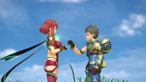 Xenoblade Chronicles 2 Rex e Pyra