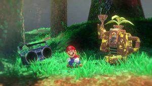 Super Mario Odyssey Steam Gardens