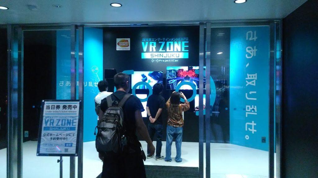 Ingresso VR Zone Shinjuku