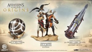 assassin's creed origins statue