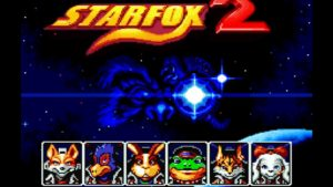 Star Fox 2 Title Screen
