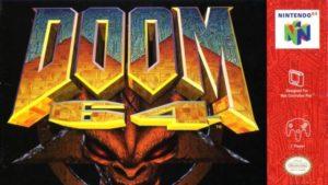 Doom 64 copertina