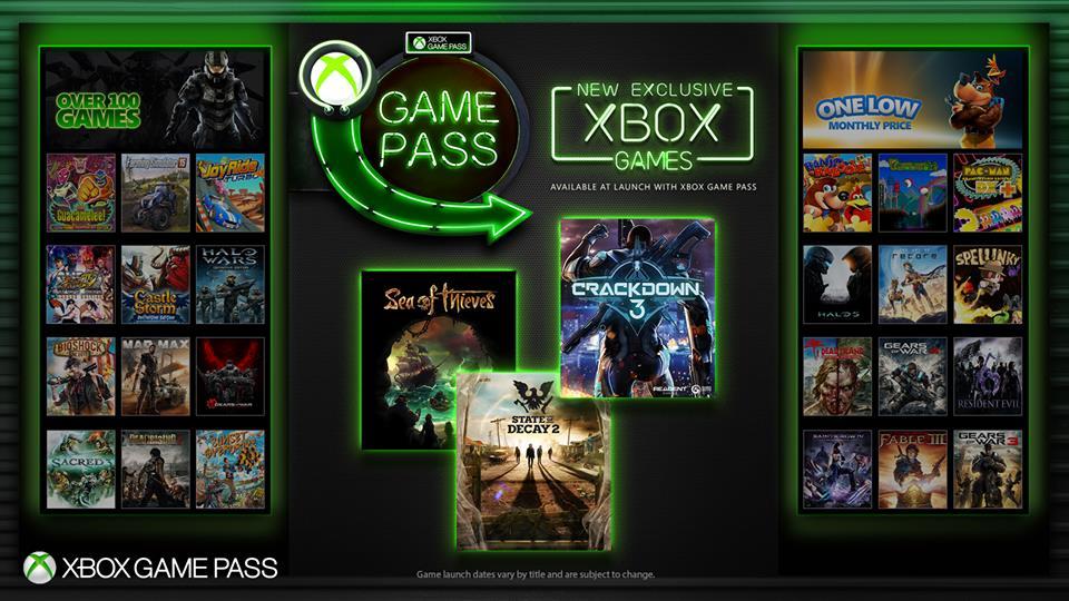 Xbox Game Pass si espande con nuovi titoli in D1