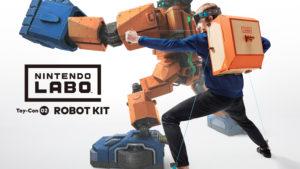 Nintendo Labo robot