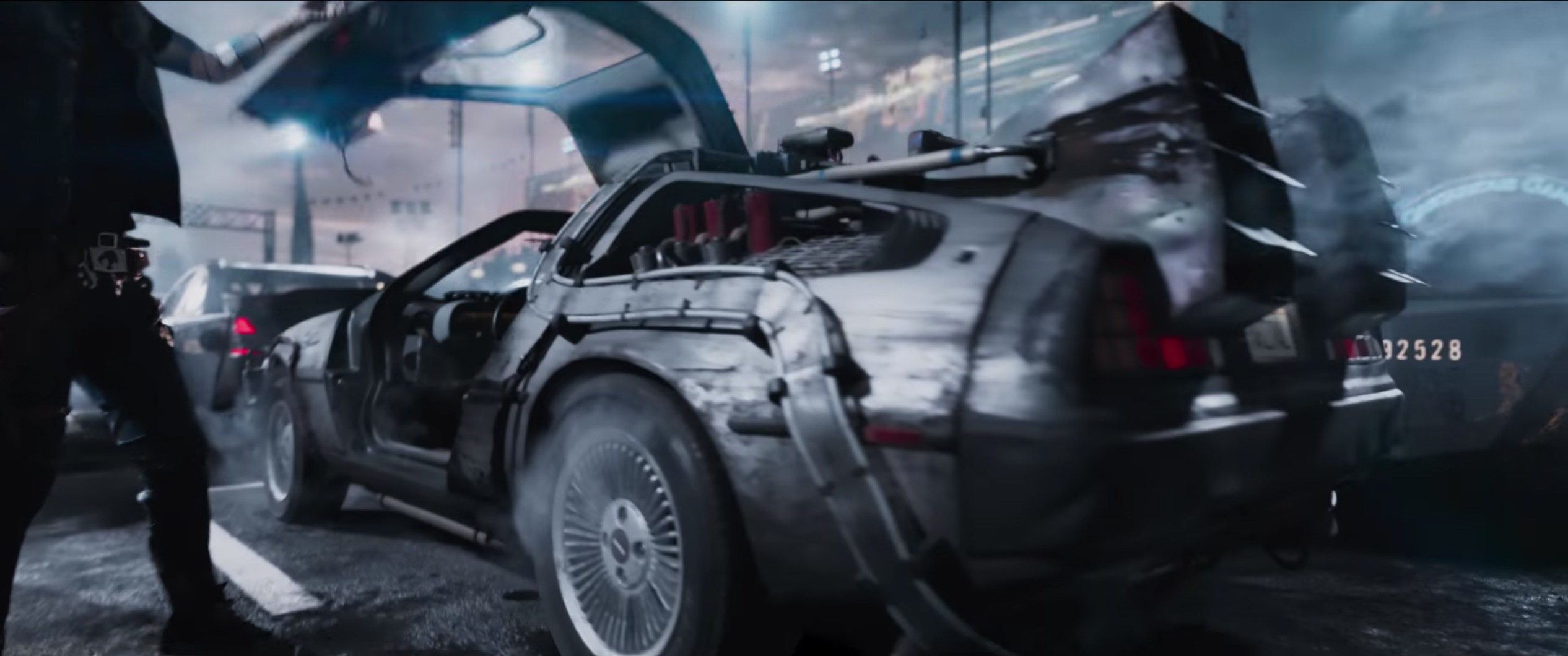 ready player one delorean