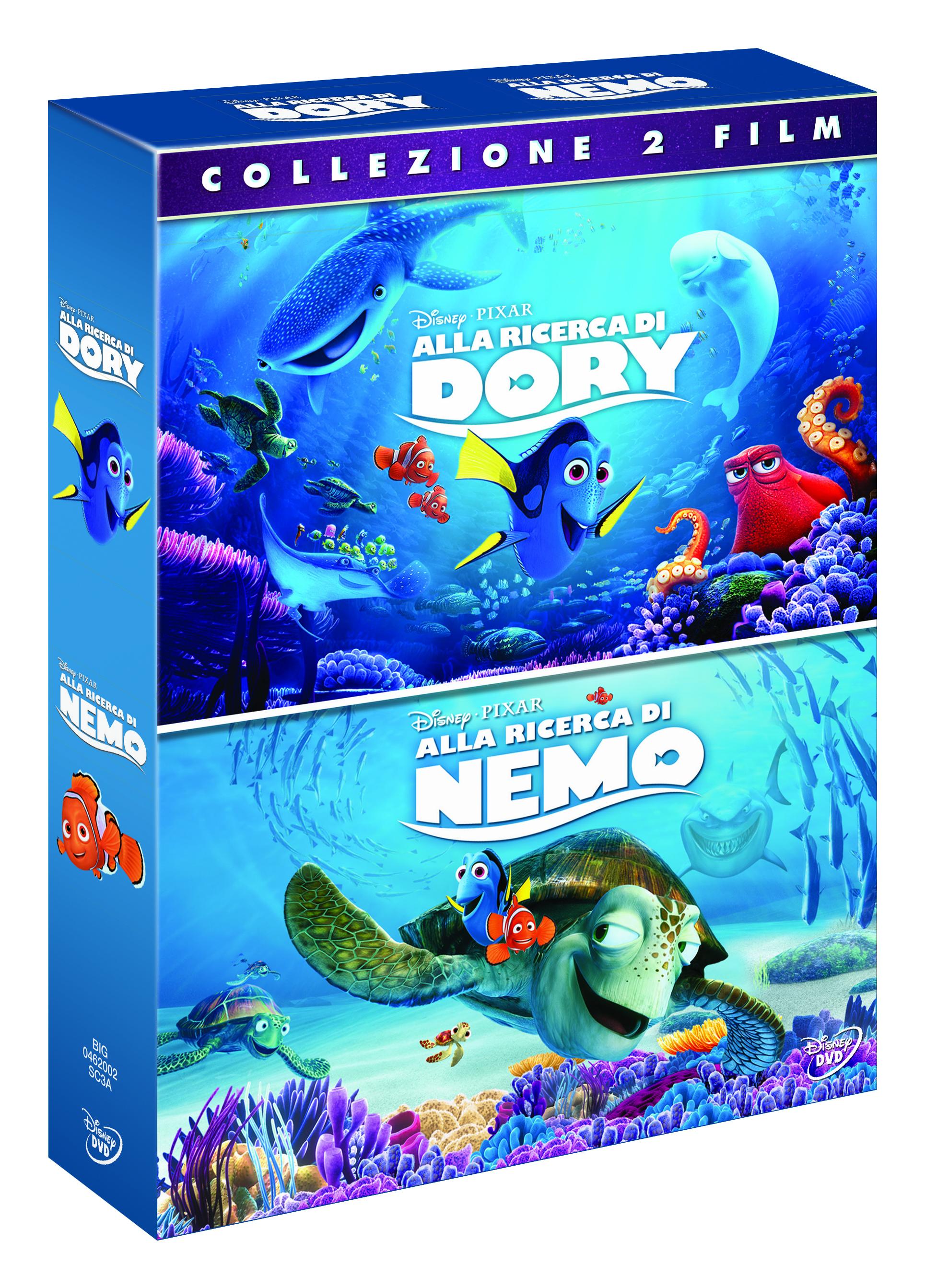 alla ricerca di dory disponibile in blu ray e dvd a