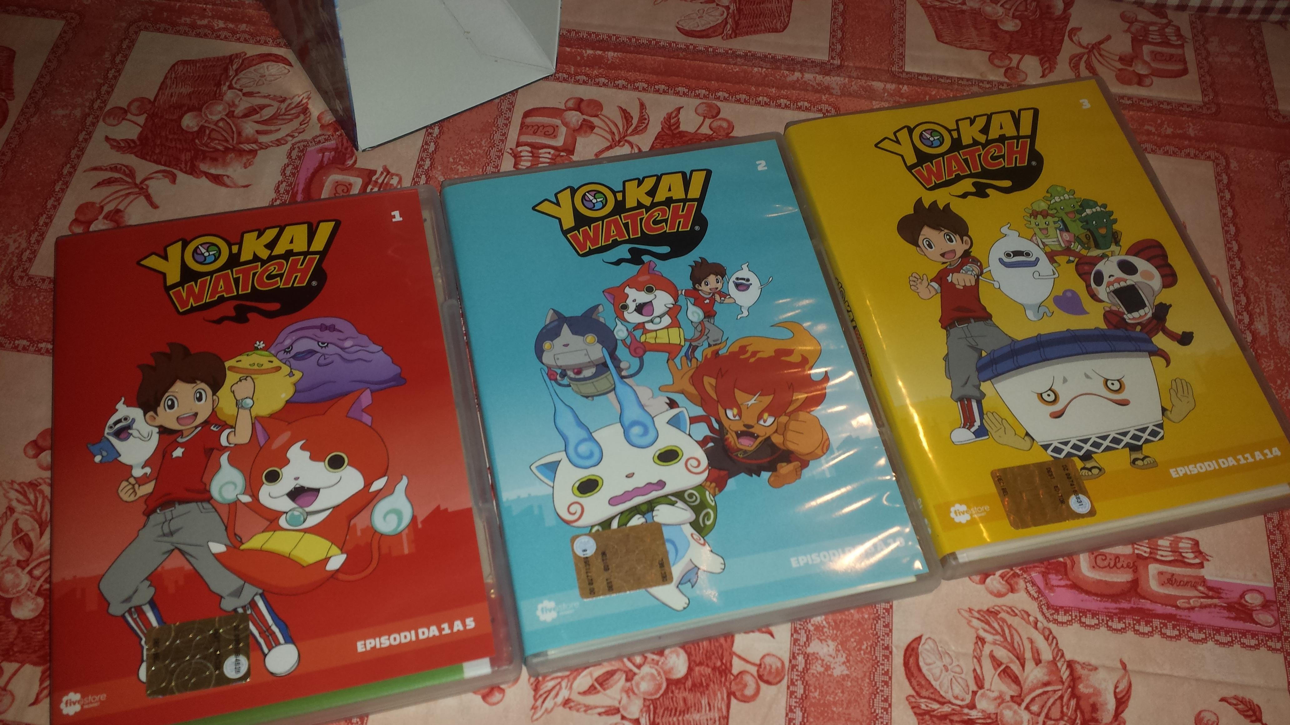 Yo kai watch la serie animata vol spiritelli per