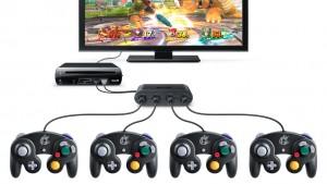 bundle wii u gamecube adapter and controller