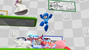 Super Smash Bros. per Wii U Miiverse stage