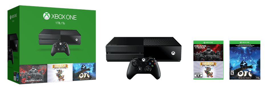 Xbox One 1TB GOW ORI Bundle