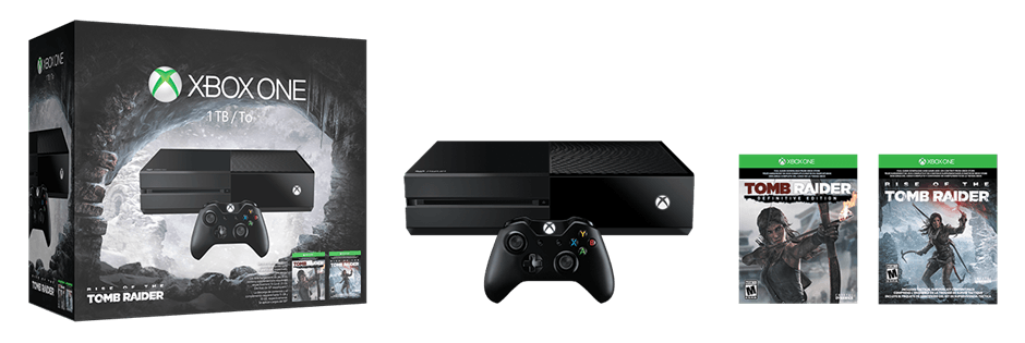 Xbox One 1TB Tome Raider Bundle