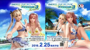Dead or Alive Xtreme 3 cover