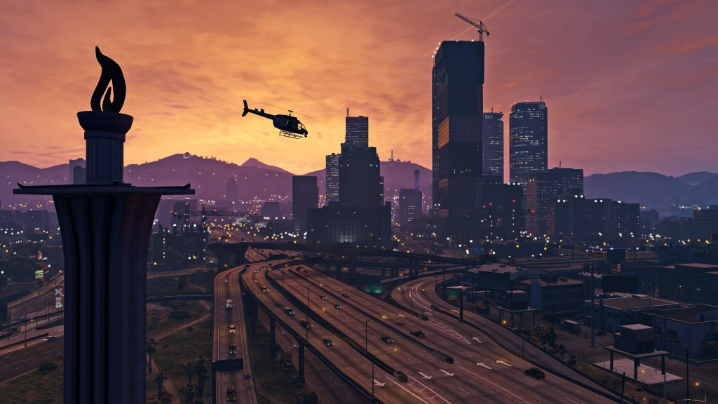 GTA V PC City View
