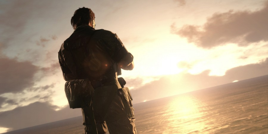 Metal Gear Solid V The Phantom Pain Sunset