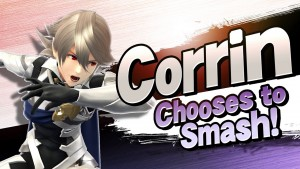 super smash bros per 3ds e wii u corrin
