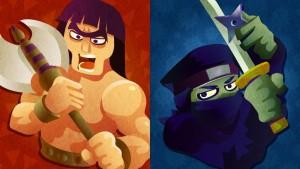 barbari vs ninja splatfest