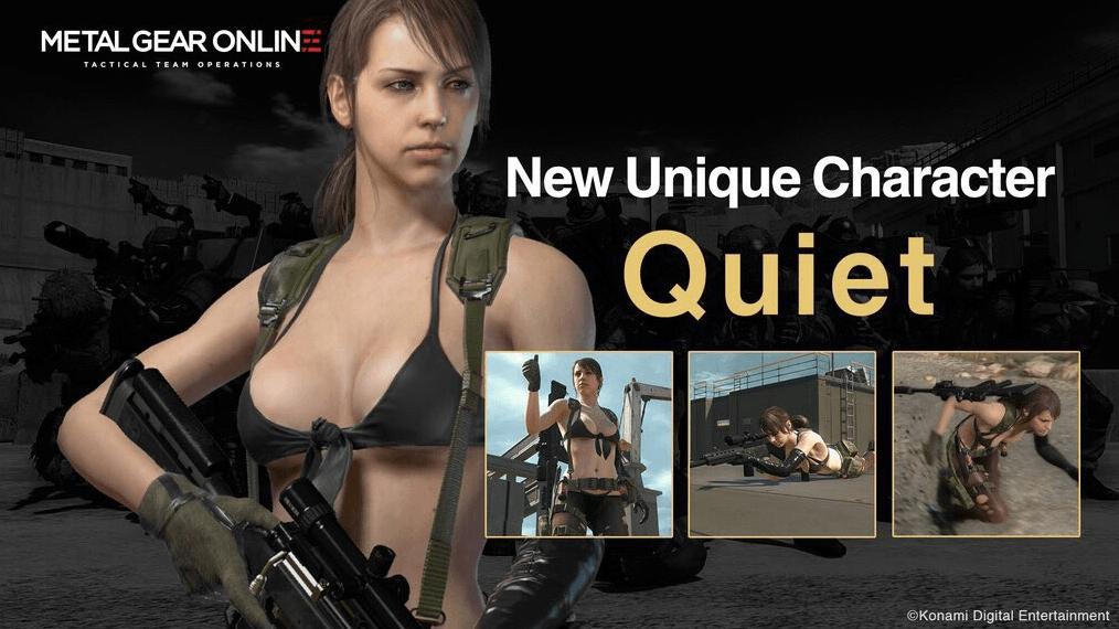 Metal Gear Online – Quiet