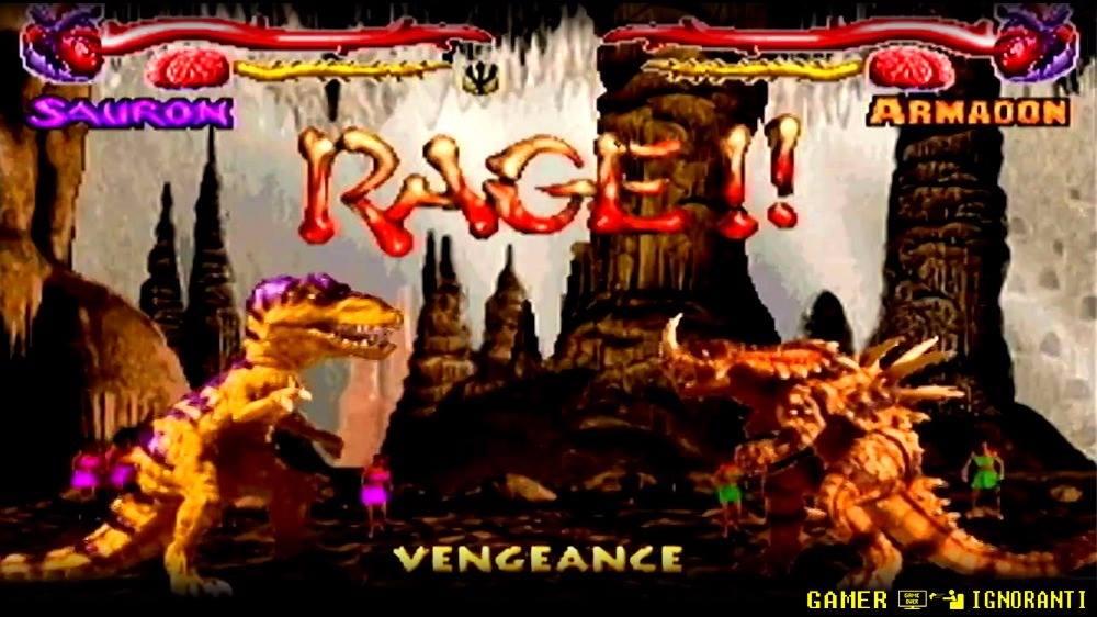 Primal Rage Giochi Ignoranti