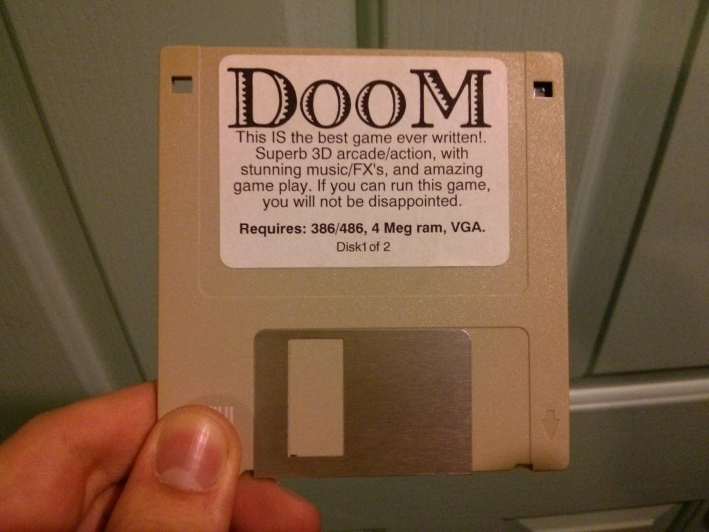 La modestia scorre potente in id Software e nella saga di doom