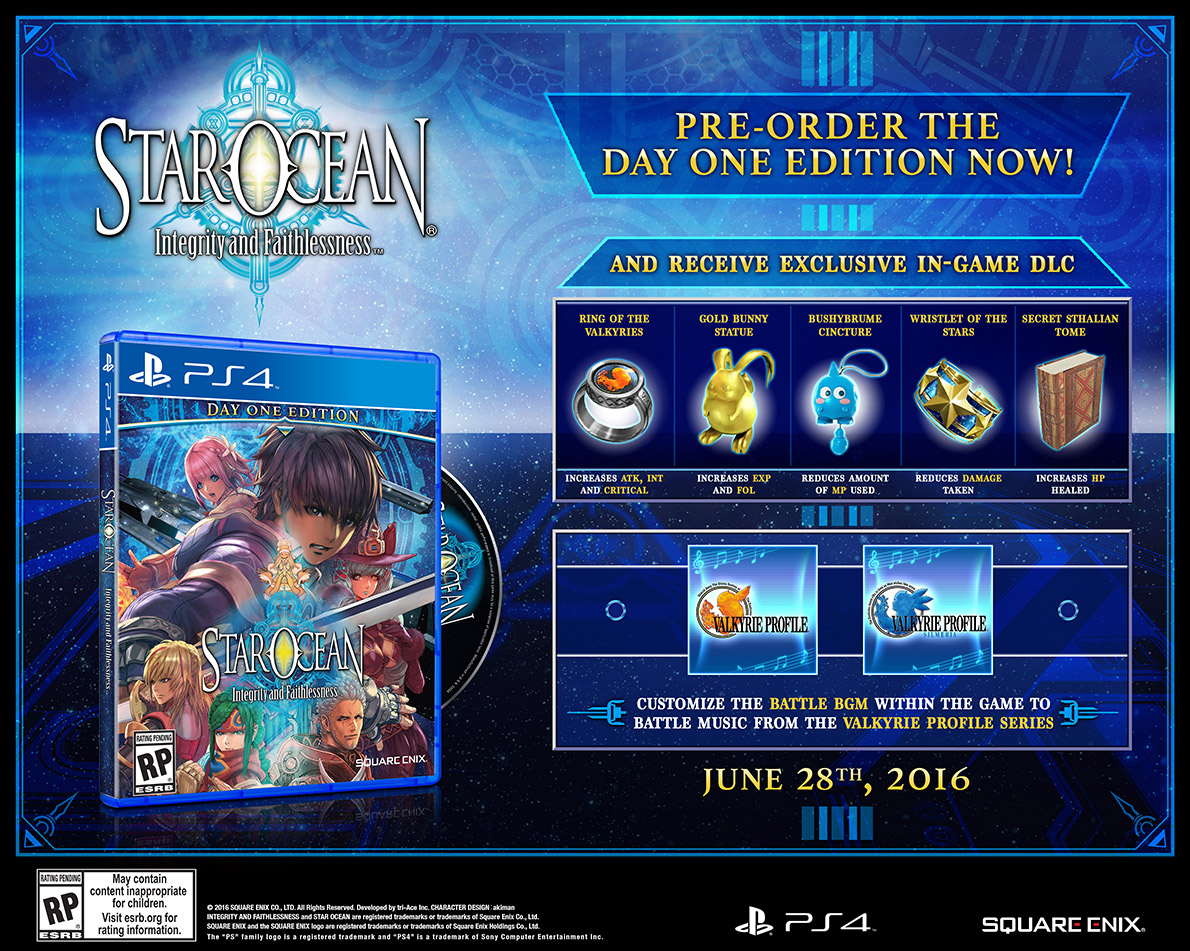 star ocean 5 day one