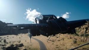 Final Fantasy XV automobile volante airship aeronave