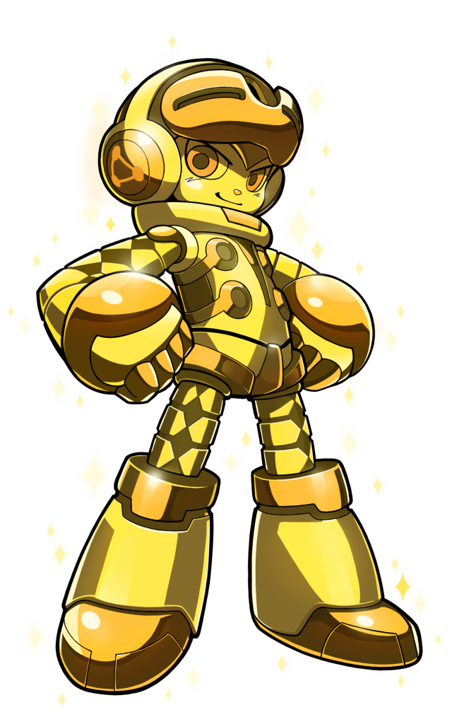 Mighty No.9 Gold