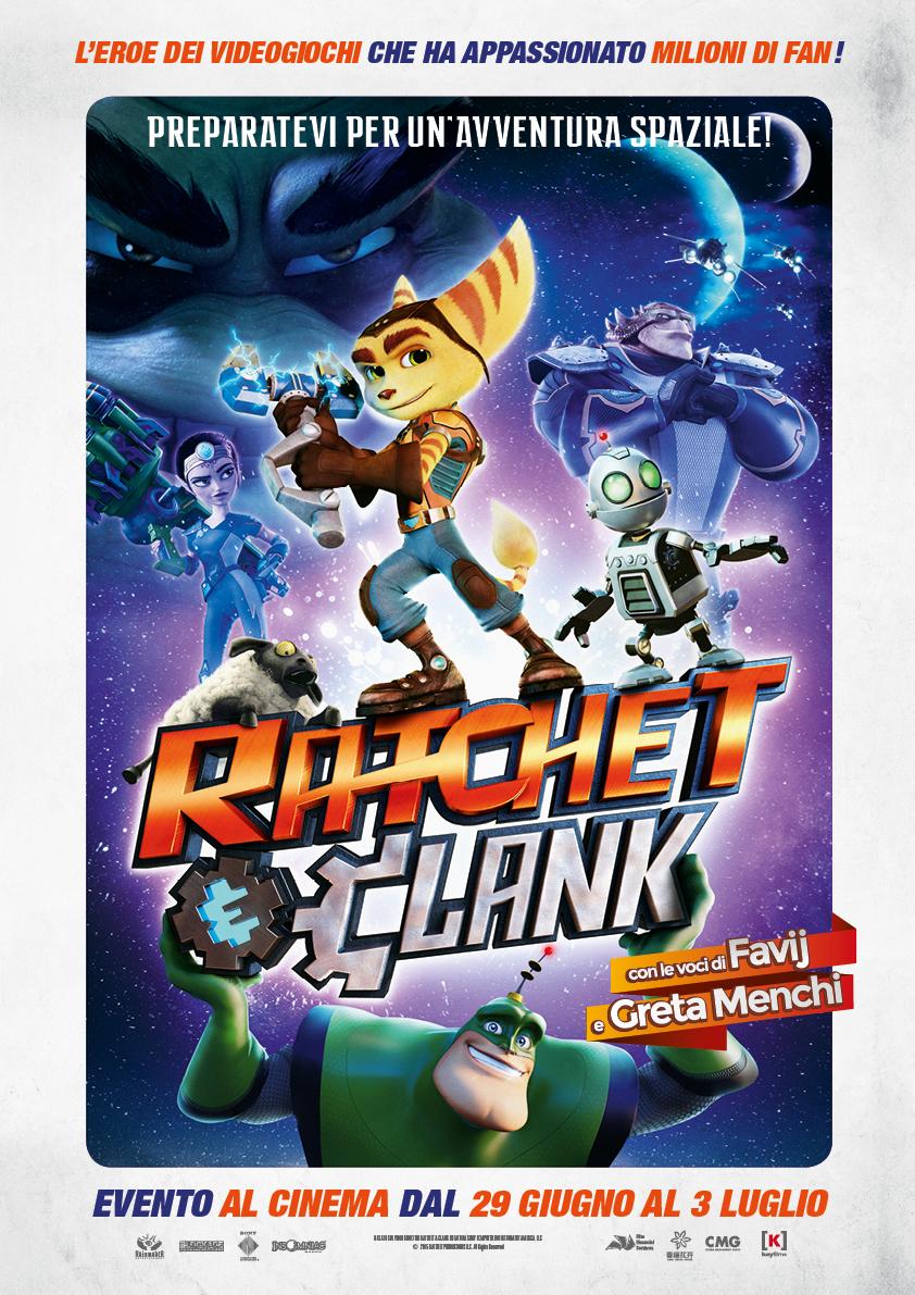 Poster Ratchet & Clank film