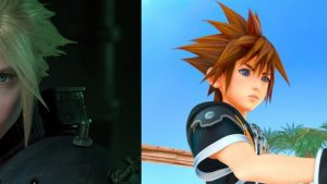 kingdom hearts 3 e final fantasy vii remake
