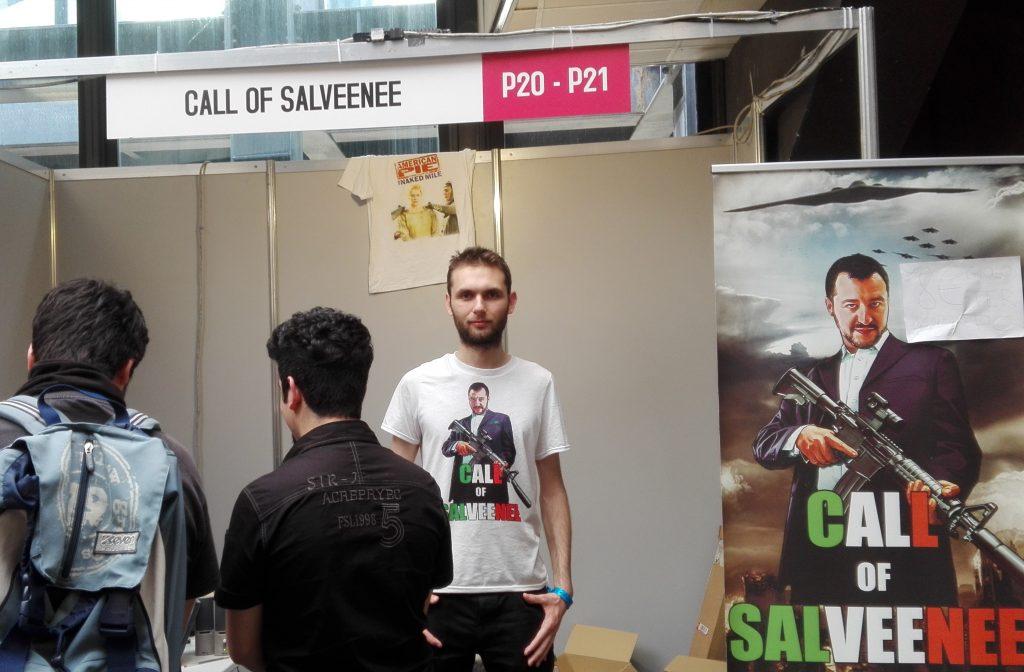 Marco Alfieri Call Of Salveenee Stand