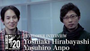 Resident Evil: intervista a Hirabayashi e Anpo