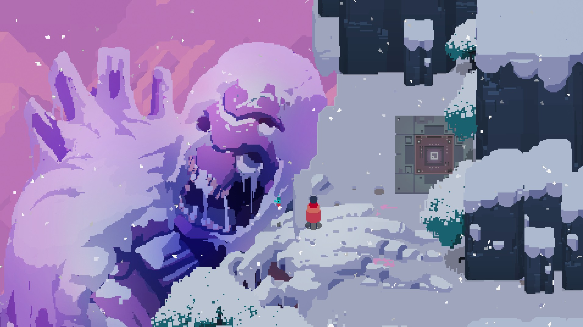Hyper Light Drifter, gigante