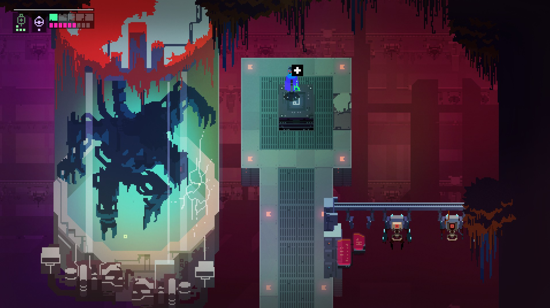 Hyper Light Drifter laboratorio